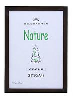 Фоторамка деревянная  цвет коричневое  дерево 21*30(А4). Рамка для диплома.