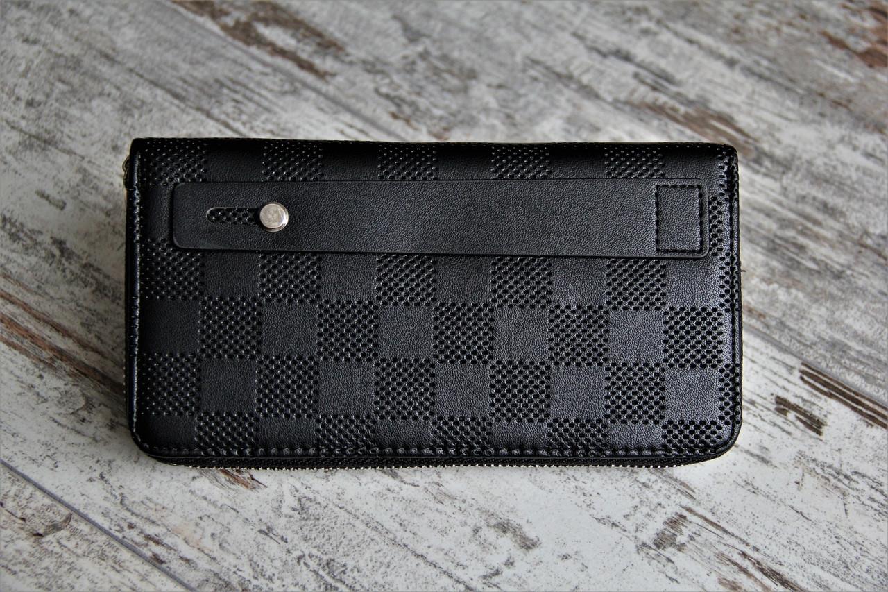 dfe57bbcdcf27 Купить Портмоне Louis Vuitton Луи Витоны чёрные (реплика) по низкой ...
