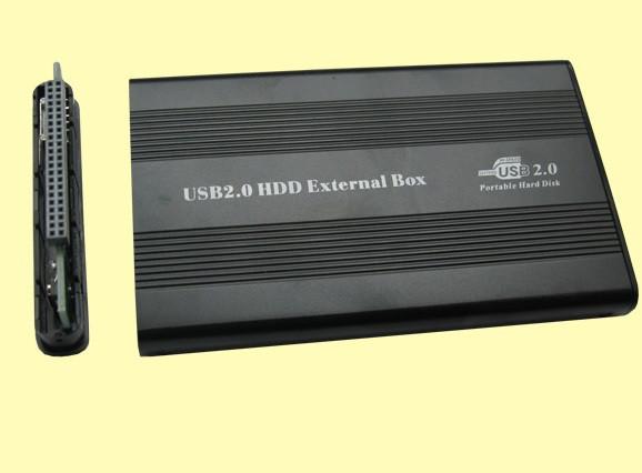 """Карман 2,5"""" корпус пластик, интерфейс USB2.0/ IDE, Black"""