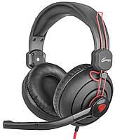 Наушники GENESIS H70с микрофоном Black-red, фото 1