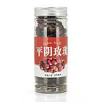 Китайский зеленый чай Pingyin Rose Tea, 50g, в стеклянной упаковке, цена за упаковку,