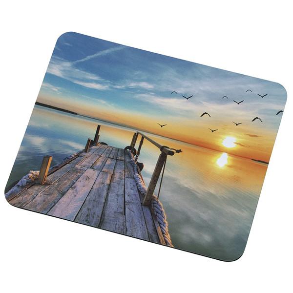 Коврик 250*210 тканевой Природа/Пейзажи (в ассортименте), толщина 1,7 мм, цвет MIX, Пакет