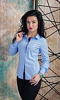 Женская рубашка на пуговицах. Размеры 42 - 50