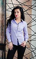 Рубашка женская на длинный рукав. Размеры 42 - 50