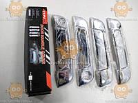 Накладки ручек дверных BMW B3 E36, E34 1991-98г. (ХРОМ!) (к-кт 4+4шт) (пр-во TYPER Польша)