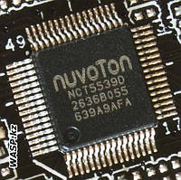Контроллер ввода/вывода и системного мониторинга Nuvoton NCT5539D
