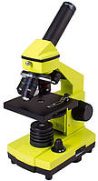 Микроскоп LEVENHUK Rainbow 2L PLUS Лайм, фото 1