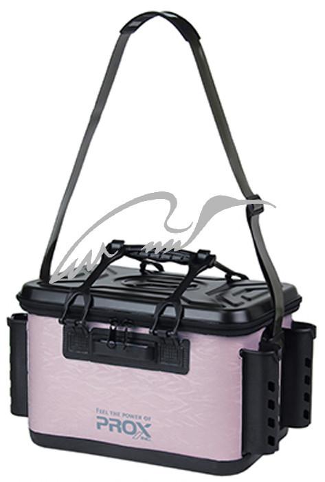 Сумка Prox EVA Tackle Bakkan With Rod Holder 36cm ц:pink