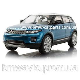 Модель автомобиля Range Rover Evoque 5 Door, Scale 1:43, Mauritus Blue