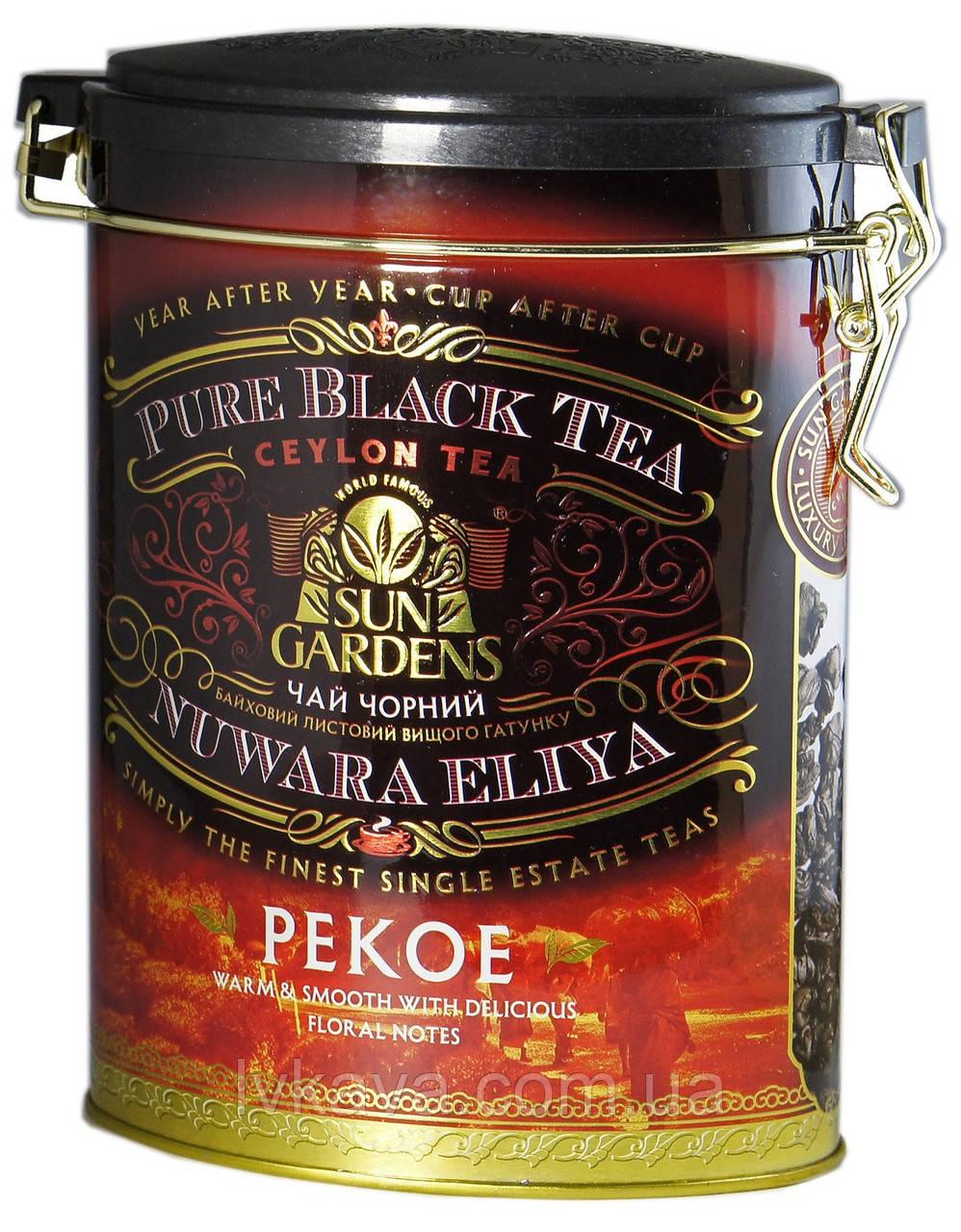 Чай черный PEKOE Sun Gardens ,ж\б, 100 гр