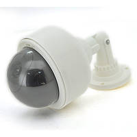 Муляж наружной камеры уличная купольная белая