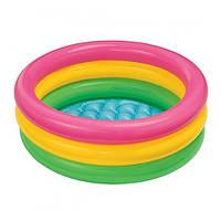 Детский надувной бассейн «Красочный» Intex 58924