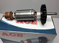 Якорь (ротор) для УШМ болгарки Фиолент 230  2kw ( 228*46 посадка 10 ), фото 1