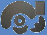 Электроды одноразовые поверхностные с гидрофильной прокладкой из целлюлозы