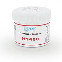 Паста термопроводная HY-410 100g, банка, White, >0,925W/m-K, <0.262°C-in²/W, -30°≈280°, Вязкость -1K cPs, OEM