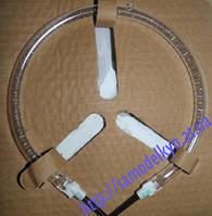 Тэн для аэрогриля (Галогеновый нагревательный элемент диаметр 15см)  1200-1400W толщина трубки 8мм.