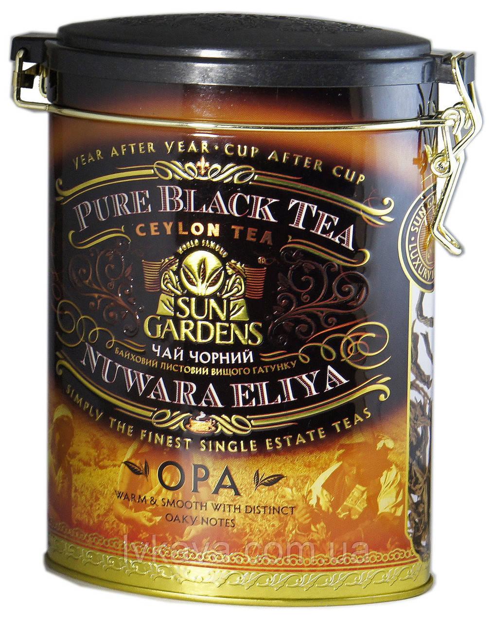 Чай черный OPA  Sun Gardens ,ж\б, 100 гр