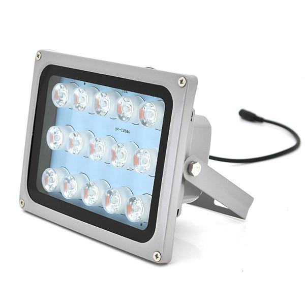 Прожектор направленный с сумеречным датчиком YOSO 220V 24W, 20LED, IP66, угол обзора 60°, дальность до 80м, 180*115*140мм, BOX