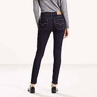 Темносиние джинсы высокая посадка LEVIS 721 W26, W27, W28, W29