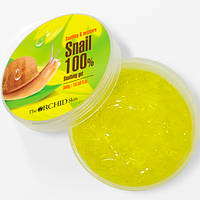Многофункциональный гель The Orchid Skin Snail Soothing Gel 100% с муцином улитки 300 мл