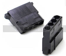 Разъем Molex для питания видеокарты под обжимку, (в пакете 1000 шт), цена за штуку