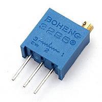 Резистор подстроечный BAOTER 3296W-1-203LF, 20 кОм, 50 штук в упаковке, цена за штуку
