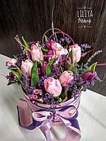 Тюльпаны в коробке, фото 1