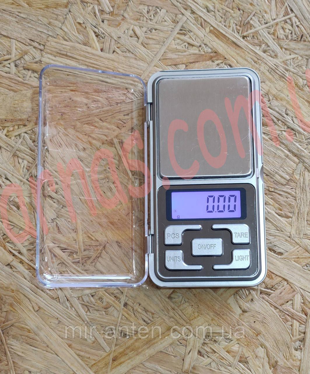 Ювелірні кишенькові ваги Pocket Scale MH-200 0,01-200гр