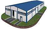 Здание 14х42х6 - Под ключ. Утеплёное из сендвич-панелей. Ангар,склад, здание, цех, помещение., фото 4