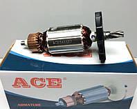 Якорь (ротор) для бочкового перфоратора 850 ( 151.5*41 / 5z вправо пологий ), фото 1