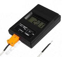 Термометр электронный -50 - 1300С с датчиком температуры и термопарой К-типа -50 - 400С