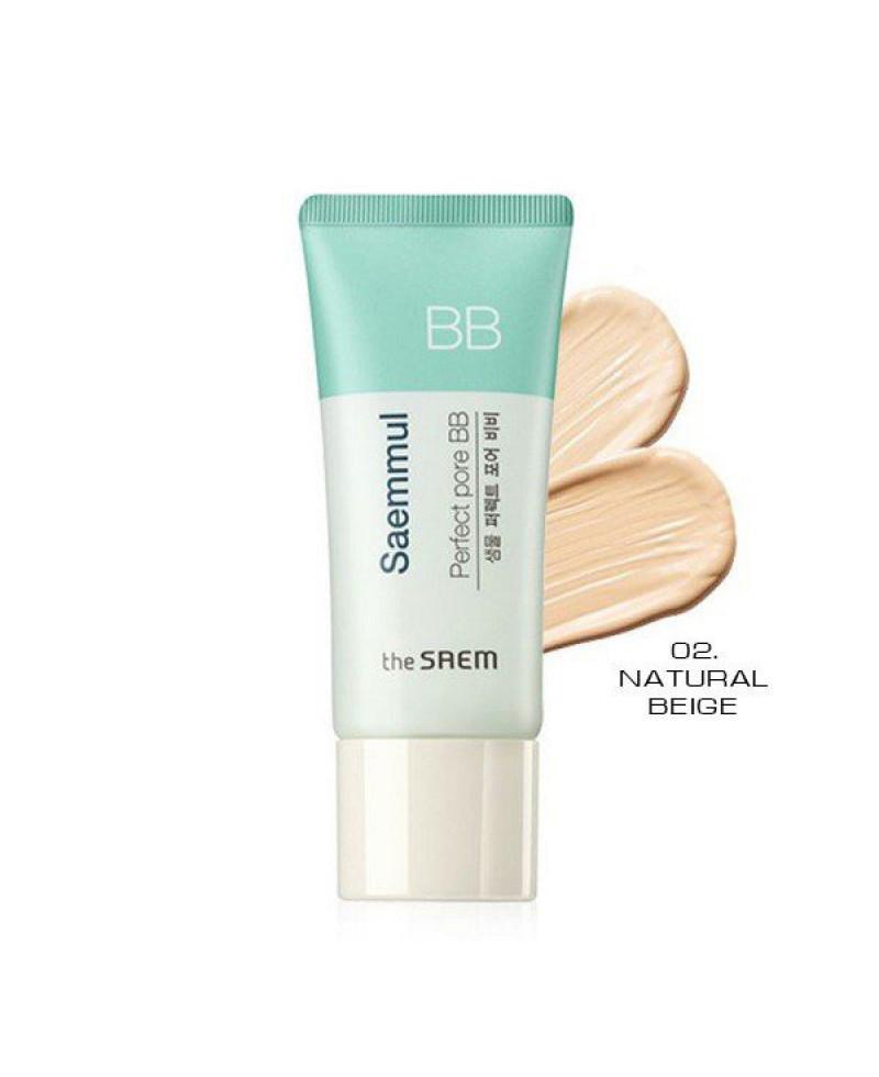 ББ крем для кожи скрывающий поры The Saem Saemmul Perfect Pore BB 02Natural Beige 15 мл