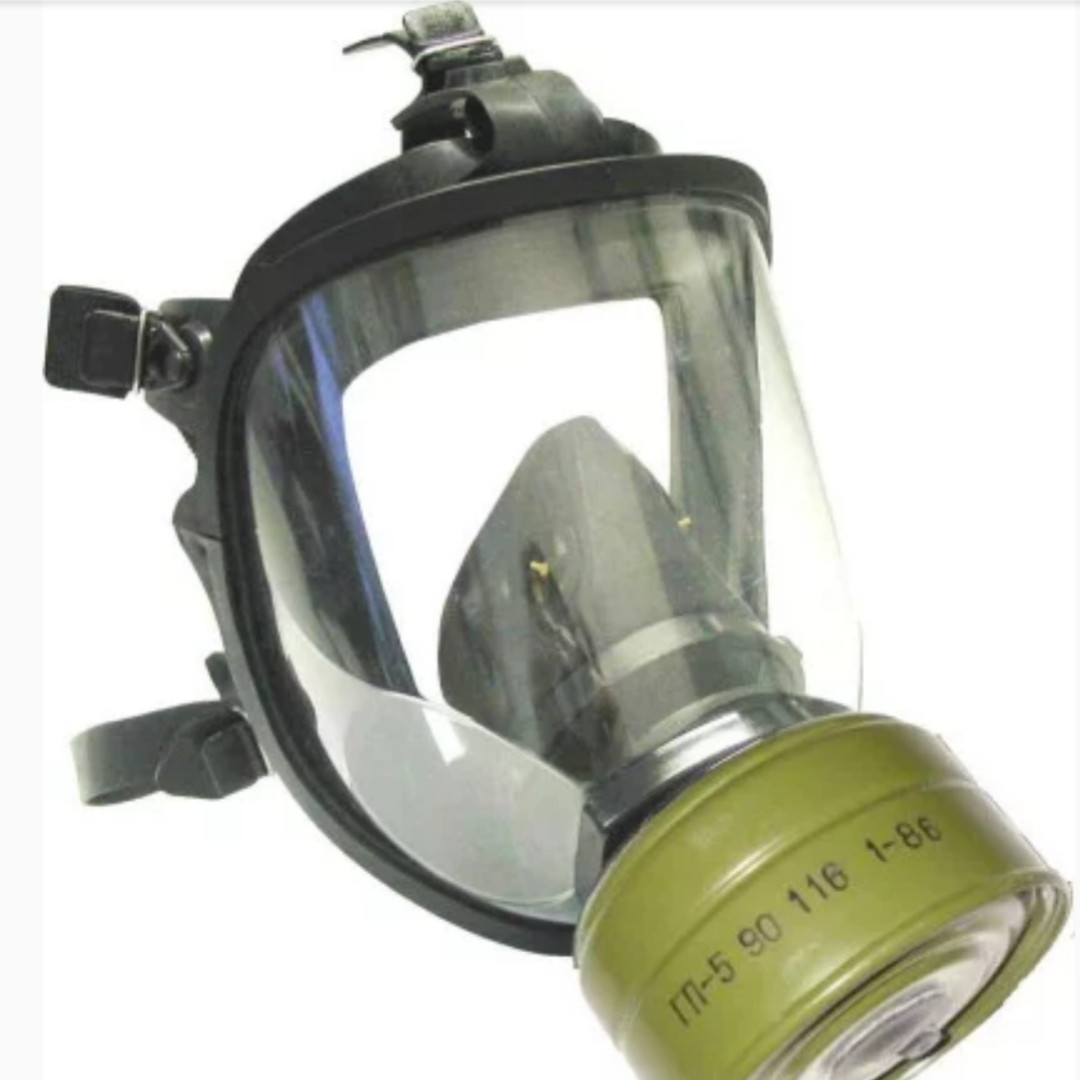Панорамная маска МАГ с угольным фильтром ДОТ320