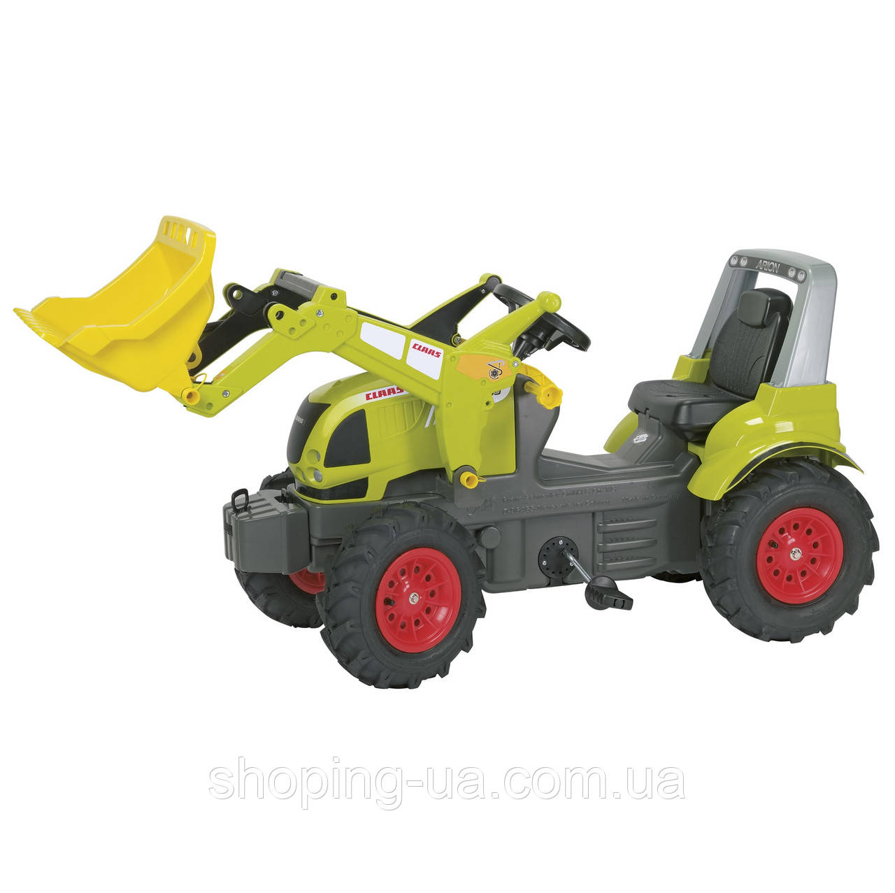 Педальный трактор rollyFarmtrac Claas Arion Rolly Toys 710249