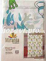 """Шторка для душа """"Miranda"""" 180*200h (Frog) детская"""