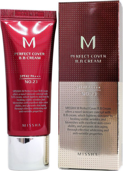 ВВ-крем для лица Missha M Perfect Cover BB Cream SPF42/PA+++ (No.23/Natural Beige) 20ml