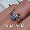 Серебряное родированное кольцо без камней Balls, фото 2