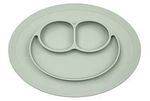 EZPZ - Силиконовая тарелка Mini mat, цвет sage