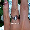 Серебряное родированное кольцо без камней Balls, фото 4