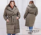 Стильная женская куртка Батал Лакне, фото 3