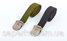 """Ремінь в стилі мілітарі 5.11 1.5"""" Cobra BDU Belt (Олива, Чорний)"""