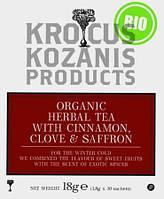 Чайный ЭКО напиток с шафраном и специями