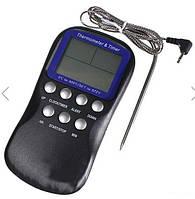 Термометр электронный 0°С до 300°С с датчиком температуры щупом для продуктов питания со звуковым сигналом