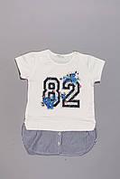 Футболка для девочек  BREEZE (128-164), фото 1