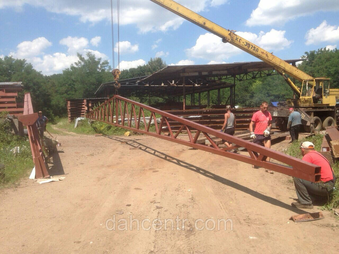 Ангар 12х60х5 склад готової продукціїї - 720кв.м