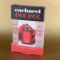 Женская мини парфюмерия Amor Amor Cacharel набор подарочный 2х35 мл ASL