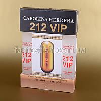 Женская мини парфюмерия 212 VIP Carolina Herrera набор подарочный 2х35 мл ASL