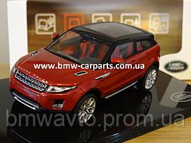 Модель автомобиля Range Rover Evoque 3 Door, Scale 1:43, Firenze Red