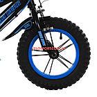 Детский велосипед Maidi Dear 240 12 дюймов черно-синий, фото 3