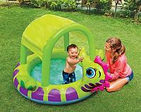 """Надувной бассейн """"Морской конек"""" Intex 188х147х104 см IKD"""